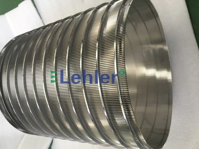 Lehler Wedge Wire Screen Filter 320 * 400mm Basket Screen Filter Panels