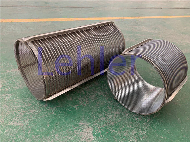 DIA 260mm Stainless Steel Filter Basket , SPS2602 Wedge Wire Basket