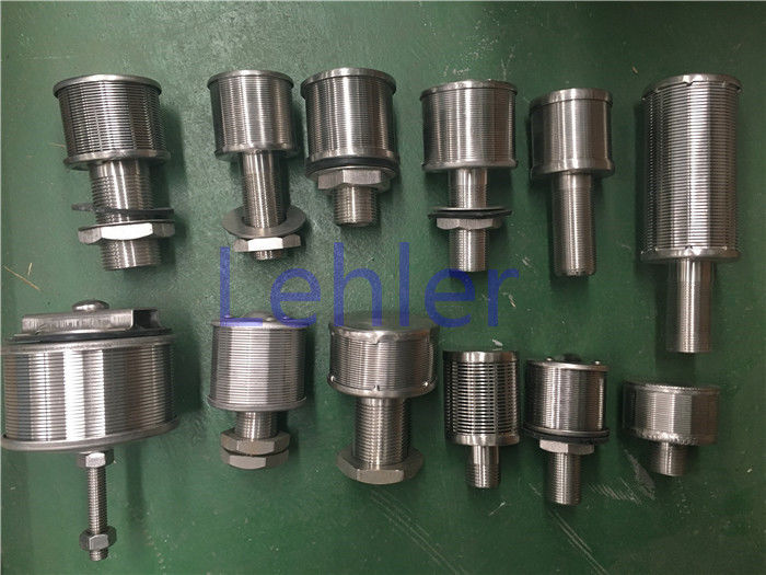 Water Treatment Stainless Steel Filter Nozzles Adequate Flow Distribution