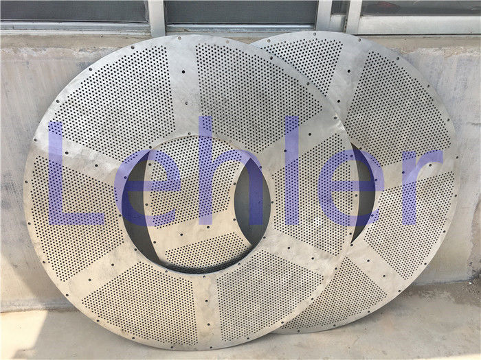 Non - Clogging Wire Cylinder Basket , Stainless Baskets Wire Mesh For Pulp / Paper