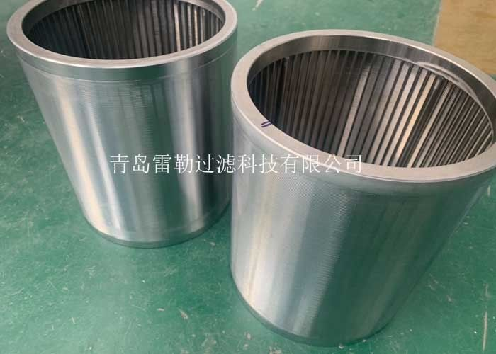 Beverage Filtration Profile Wire Screen 316l Material Thread Coupling Cylinder Type