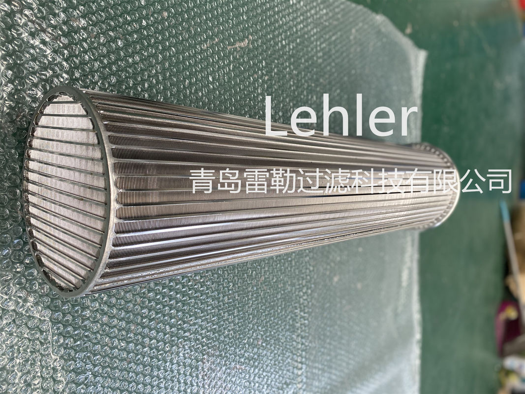 Cylinder 6000mm SS304 0.1mm Slot Wedge Wire Screen